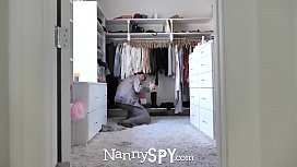 NannySpy Lonely dad seduces...