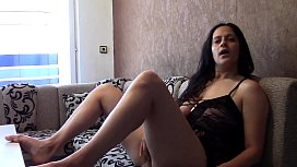 Masturbating Orgasm with Dirty Taboo Talk xxx video