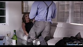 Sexy blonde milf Mona Wales anal pounded