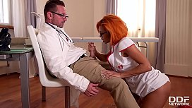 Nymphomaniac Nurse Rose Valerie...