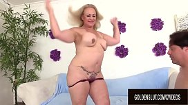 Older Slut Summer Quenches Her Lust with a Hardcore Fuck Session