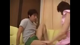 Hot Asian Japanese Mom and Son have nice Sex image