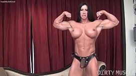 Female Bodybuilder Angela Salvagno...