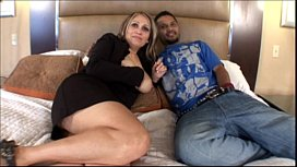 Mature Latina Mom banging...