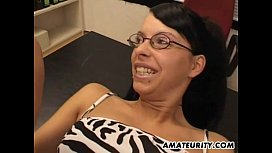 Amateur homemade foursome with...