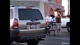 Cheating wife with the supermarket's guy