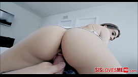 Teen Step Sister Joseline Kelly Hot POV Fuck With Stepbrother