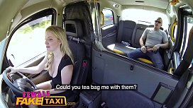 Female Fake Taxi Tea...