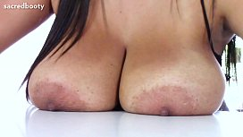 Huge Oily Natural Tits...