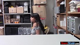 Busty latina suspect gets...