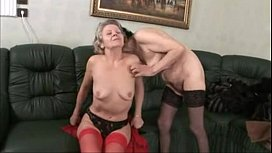 Very old granny lesbian...