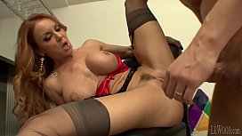 Glamour mom with hairy snatch Part 2 - Part 1 on www.milfsandguns.com