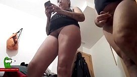 After fucking he cums inside her wet hairy pussy ADR0595