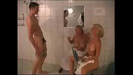 Busty russian mature with...