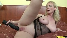 Sexy mature blonde fucked...