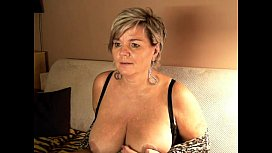 Short haired german mature with big tits on her webcam FreeCamGirls.Club