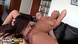 BANGBROS - MILF Simone Sonay And Young Valentina Nappi In FFM Threesome