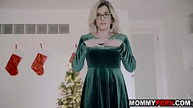 Sex as christmas gift from step mom