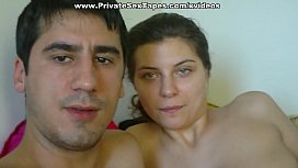 Nude lovers playing exciting couples sex games