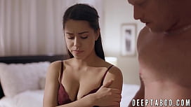 Babysitter Alina Lopez pounded and creampied while on duty