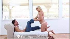 Blonde Milf sucks and get fucked by Johnny Castle
