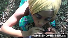 Blonde Young Ebony In...