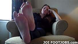 Get on your knees and suck on my perfect toes