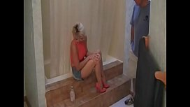 Aphrodite, former charm, blonde amateur fuck in bathroom.