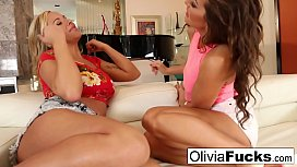 Olivia Austin and Abigail...