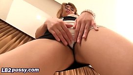 Asian slim young housewife fingering her naughty hairy pussy