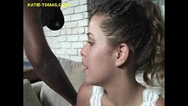 Katie Enjoys her Interracial...