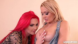 Lesbo lovers Roxi Keogh...
