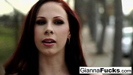 Busty Gianna Michaels gets pounded by black cock