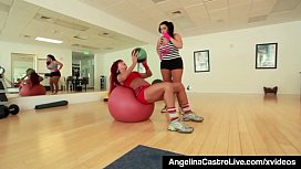 BBW Angelina Castro Gets...