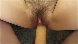 Mature Hairy Pussy Takes Cock Extension BWC