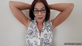 Mom strap on guy and real slut amateur wife milf xxx Ryder Skye in