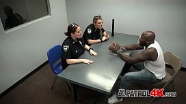 BBC hardcore interrogation with two hot MILFs with wet cunts!