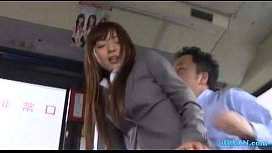 Hot Office Lady Getting...