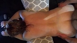 Chatting Housewife Gets Handcuffed...