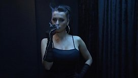 Smoking mistress...