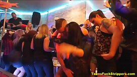 Genuine Wives &amp_ Girlfriends Turn Slutty At CFNM Party