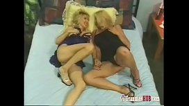 Matures Threesome Party With...