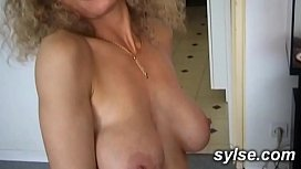 Lesbian Teen and milf outdoor with workmen - amateur compilation