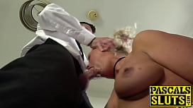 Kinky MILF Nova Shields anally and orally pounded