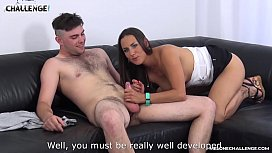 Too horny newcomer cum and didnt know that with pornstar Mea Melone