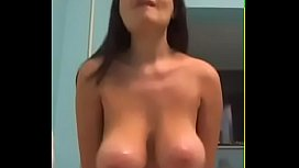 Big tits housewife great cowgirl fuck