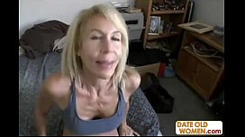 Hot GILF with hairy...