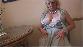 Curvy mature lady in...