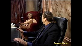 Naughty bisexual boss oral...