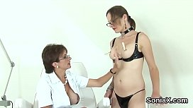 Unfaithful british mature lady sonia showcases her gigantic boobs